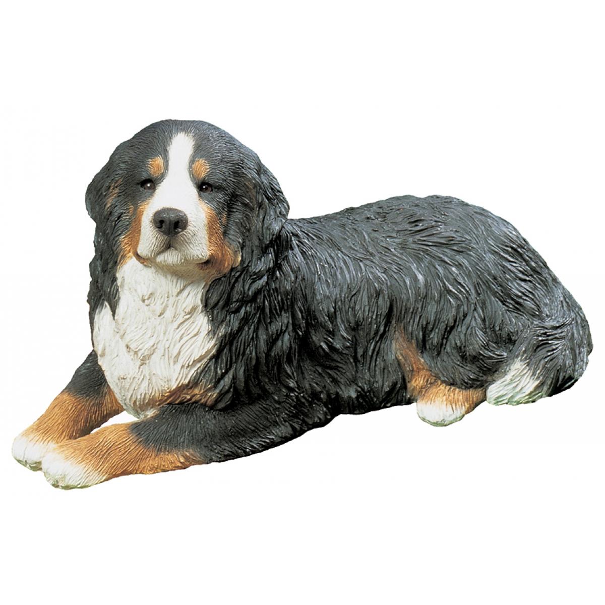 Berner Sennenhund Figur, liegend