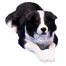 Border Collie Figur, liegend