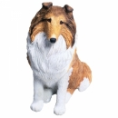 Collie, Rough, Sable/White Figur