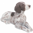German Shorthaired Pointer Figur, liegend