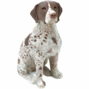 German Shorthaired Pointer Figur, sitzend