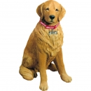 Golden Retriever Figur lebensgross