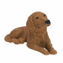 Golden Retriever Figur, liegend