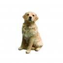 Golden Retriever Figur, light, sitzend