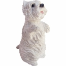 West Highland White Terrier Figur, Männchen machend