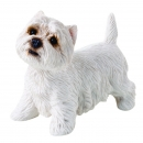 West Highland White Terrier Figur, stehend
