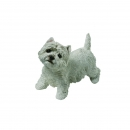 West Highland White Terrier Figur