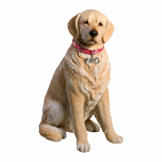 Golden Retriever Figur light lebensgross